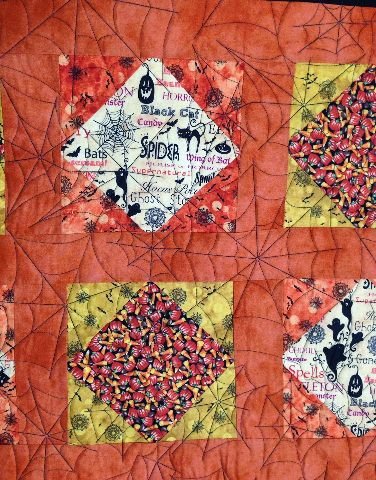 Joan McGarity Halloween Quilt