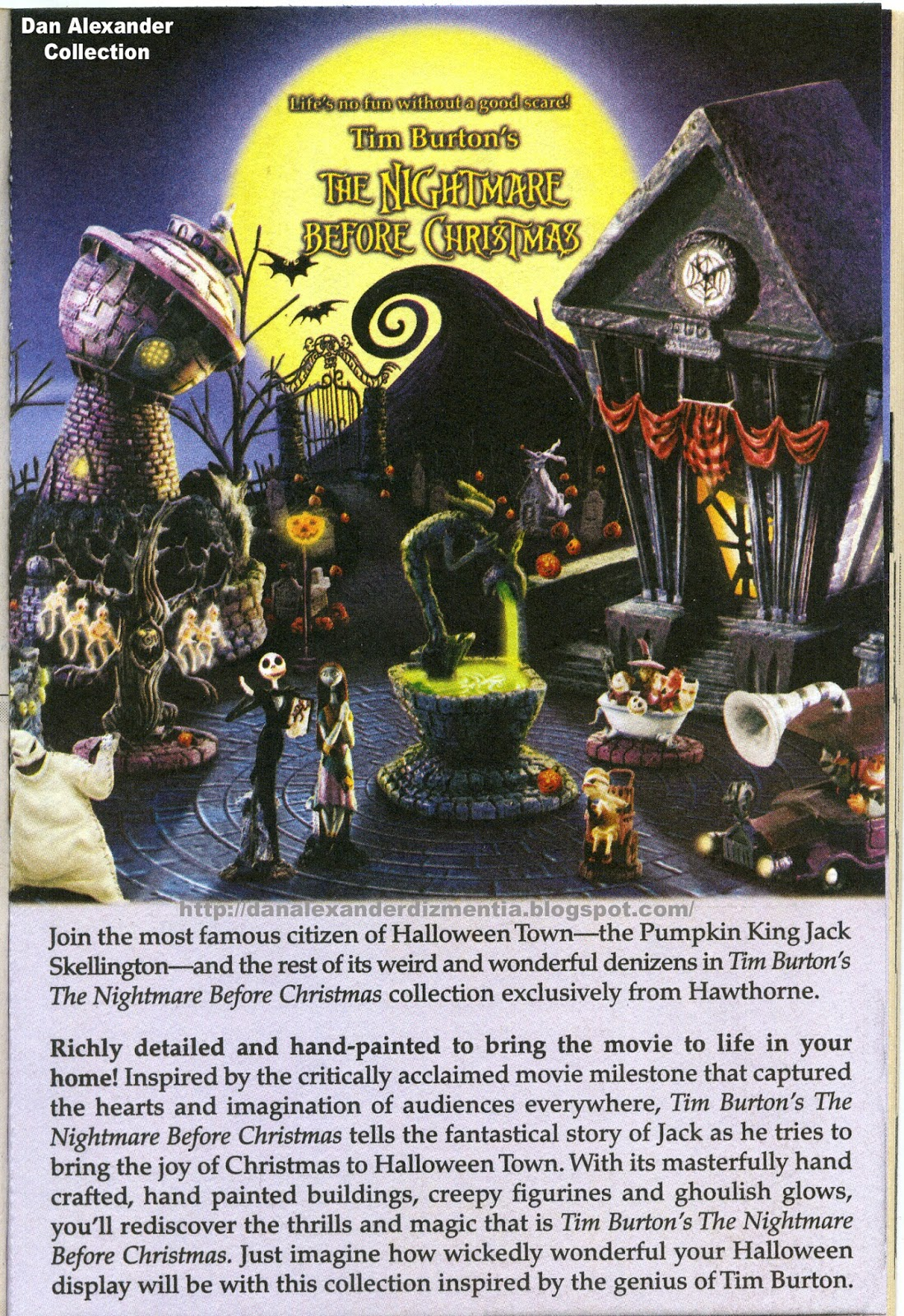 Hawthorne Village Nightmare Before Christmas Train Set ✓ Labzada T ...