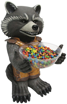 Rocket Raccoon Candy Bowl Halloween