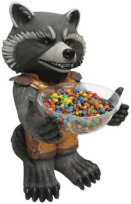 Rocket Raccoon Candy Bowl Halloween