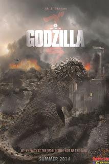 xem phim Godzilla Trở Lại - Godzilla (2014) full hd vietsub online poster