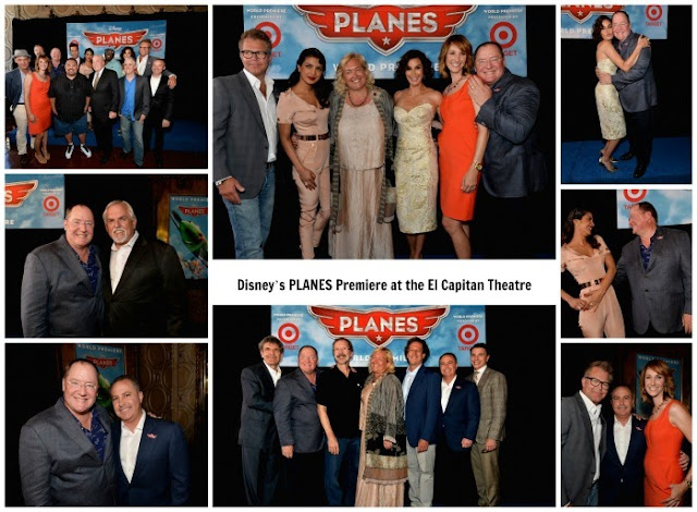 Disney's PLANES World Premiere at the El Capitan Theatre