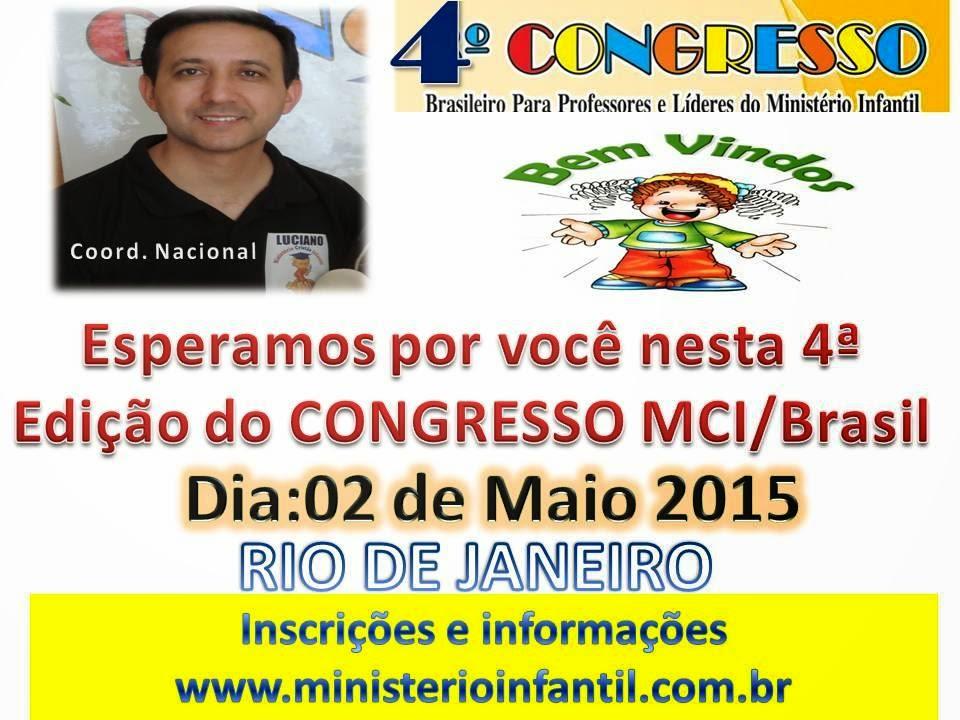 4º CONGRESSO BRASILEIRO MCI/BRASIL