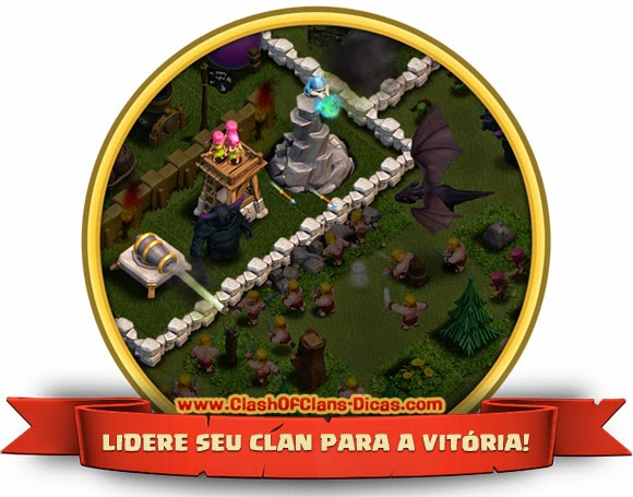 Castelo do clan - design clash of clans download