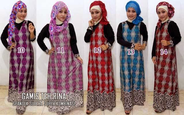 Gamis Muslimah Untuk Org Gemuk Model Gaun Pesta Muslimah