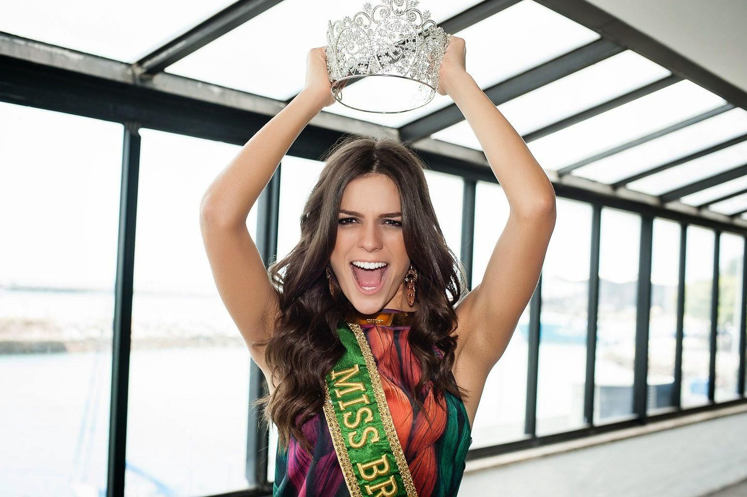 Miss Universo 2018 Quem Ganhou >> MISS PARANÁ BE Emotion 2018: O BRASIL TEM REPRESENTANTE NO MISS UNIVERSO 2014