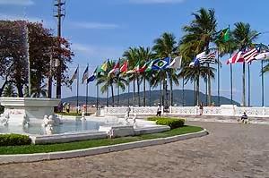 Santos - Gonzaga (Praça da bandeiras)