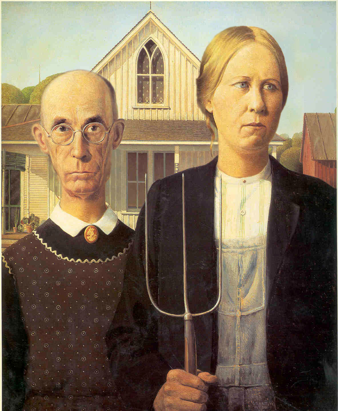 american gothic grant wood essay Essays on grant wood grant and pollock the works american gothic  grant wood painted american gothic between the world wars i and ii.