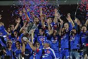 Pero La Universidad de Chile nunca se dio por vencido, y con fútbol y garra, .