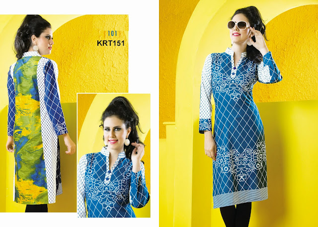 Latest Casual Wear Cotton Kurti Online