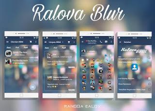 BBM MOD RALOVA BLUR  v2.10.0.35 APK