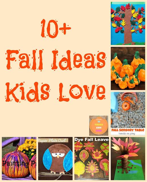 10+ Fall Ideas Kids Love