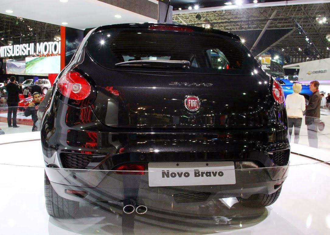 Novo Fiat Bravo 2015 black lançamento