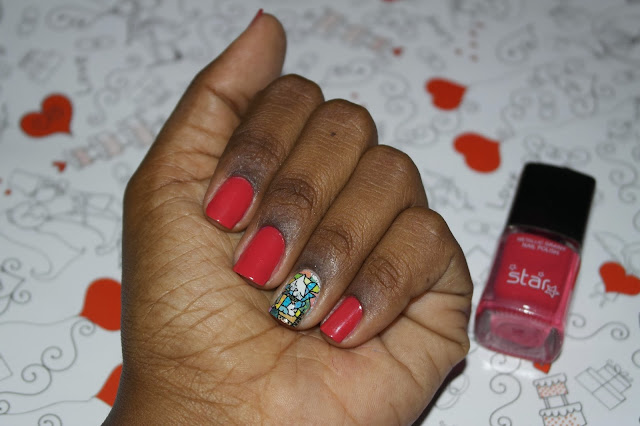 Unhas-da-vez-Star-Nails-Makeup-Red-Rose-película-Perfect-Nail-Romero Brito