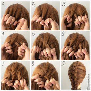 five strand french braids tutorial lynette tee makeup