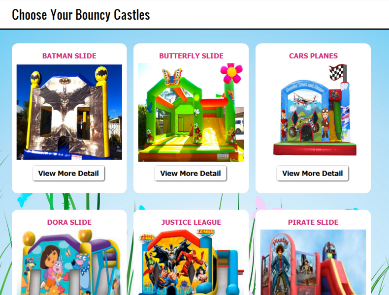 trusted provider of bouncy castle hire services in Perth