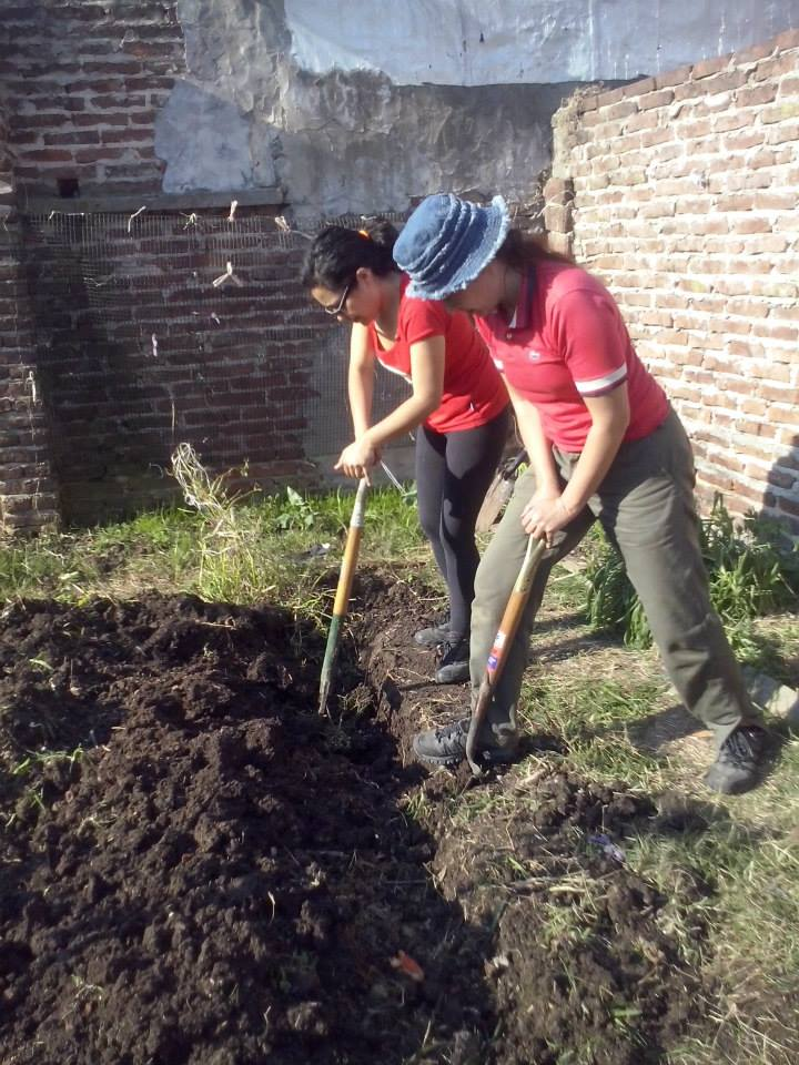 Cursos de huerta org nica taller preparaci n de for Preparacion de jardines