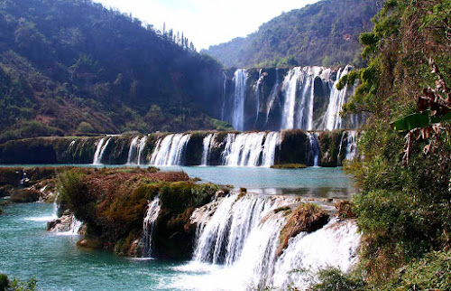 Jiulong waterfalls in Luoping, Yunnan, China