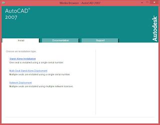 Cara Install AutoCAD 2007 di Windows 8