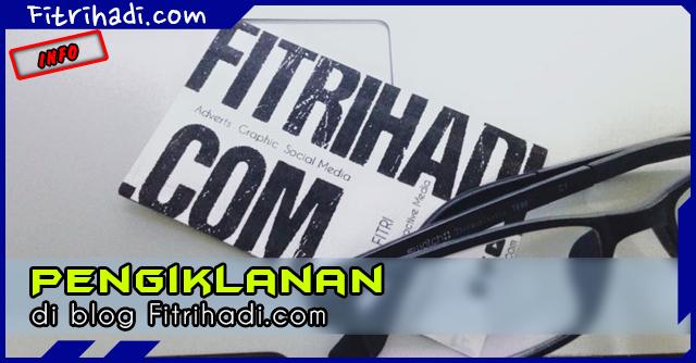 Pengiklanan di blog Fitrihadi.com