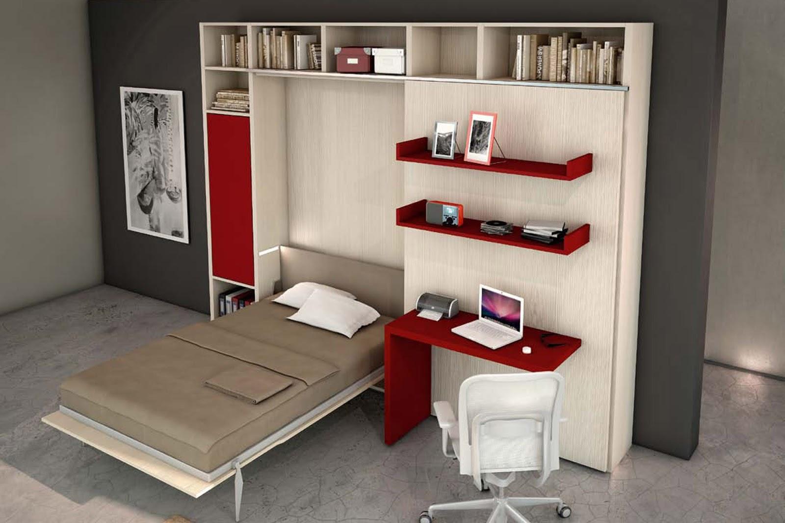 Soluzioni salvaspazio camera da letto: idee arredamento camera da ...