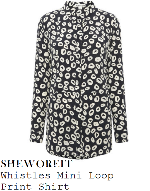 rochelle-humes-black-white-loop-print-shirt-this-morning