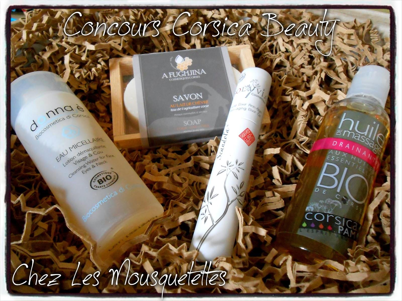 Résultat Concours Corsica Beauty - Les Mousquetettes©