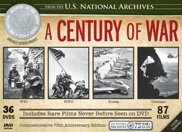 US National Archive A Century Of War - 36 Disk ~ Toko