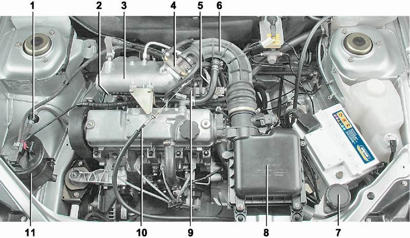 питания двигателя 2111 (1
