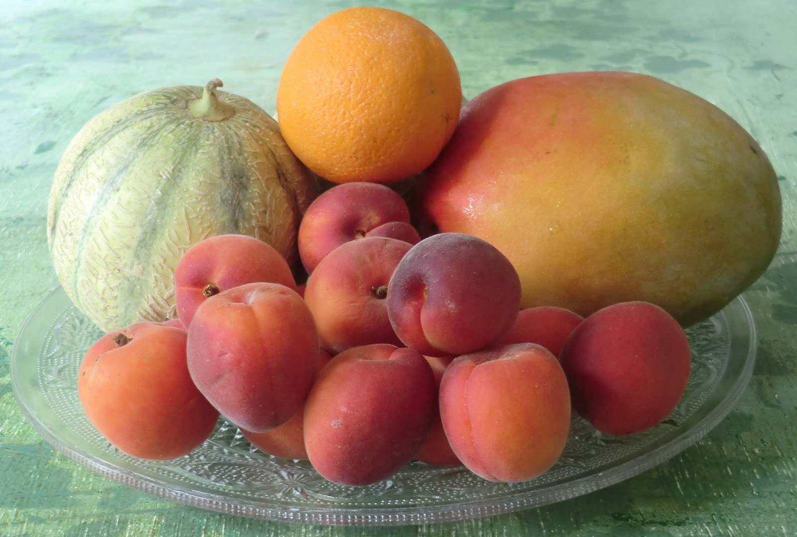 les petites recettes de l u0026 39  u00e9t u00e9 du blog   le temps des salades - salade aux fruits d u0026 39  u00e9t u00e9