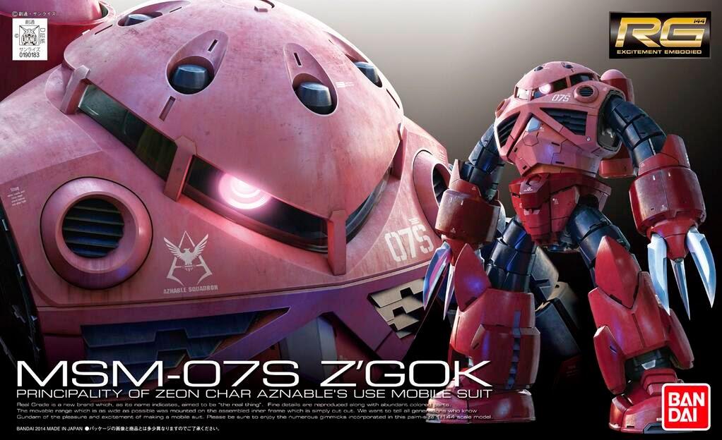 HG 1/144 Char&#39-s Zaku II (Gundam The Origin ver.) - Release Info ...