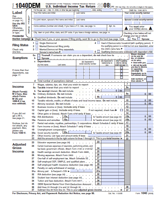 2009 tax table 1040 ex form