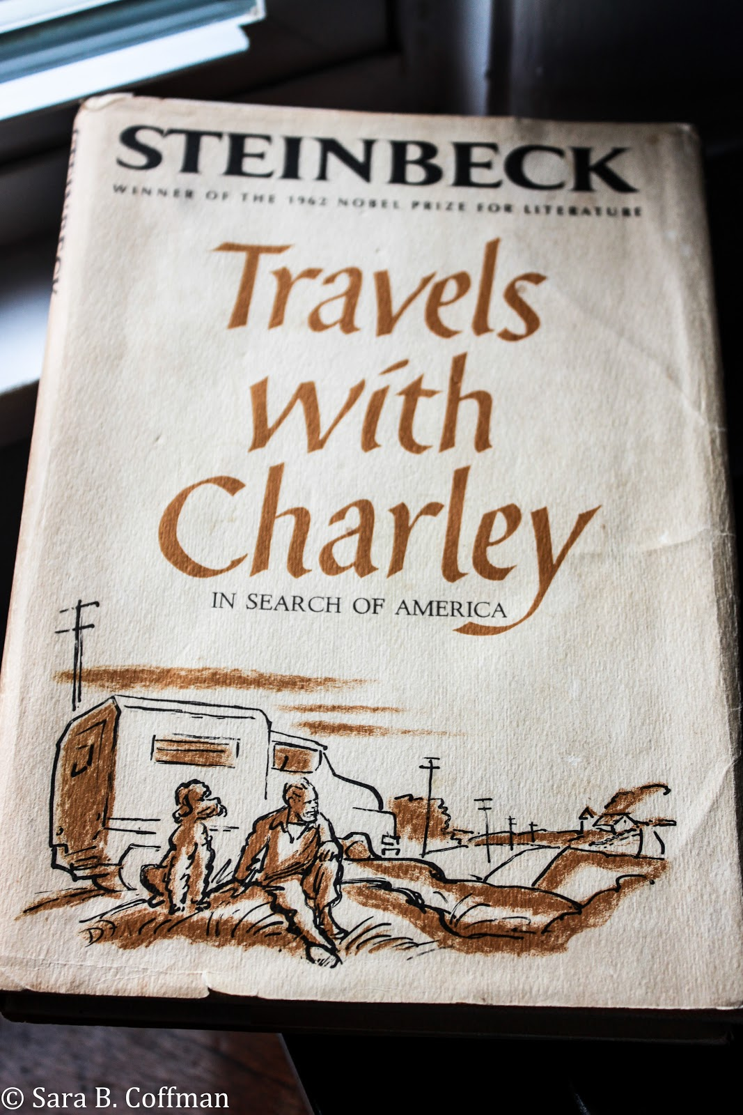 wordy evidence of the fact travels charley by john steinbeck that s right that s jacket design and illustrations by the great don man so cool