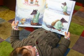 Llibre infantil L'amable llop Ferotge