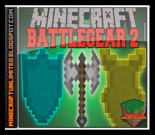 Mine and Blade BattleGear 2 Mod Minecraft
