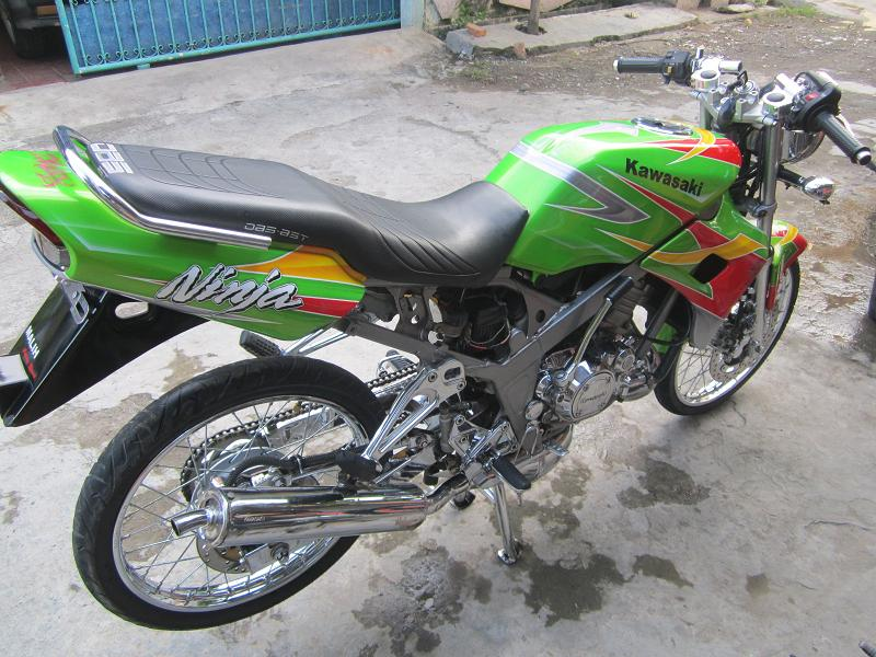 Ninja SS 150cc Paling Keren 2017  Modifikasi Motor Keren 2017