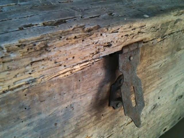 WONEN a la Mar   u2665 Mooie vondst  Franse oude kist