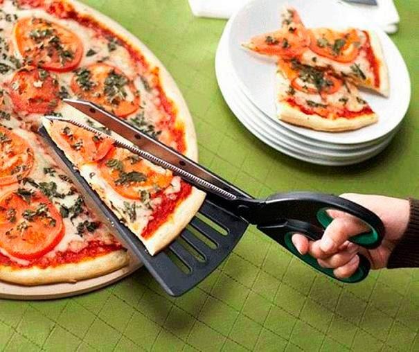 o fantástico cortador de pizzas