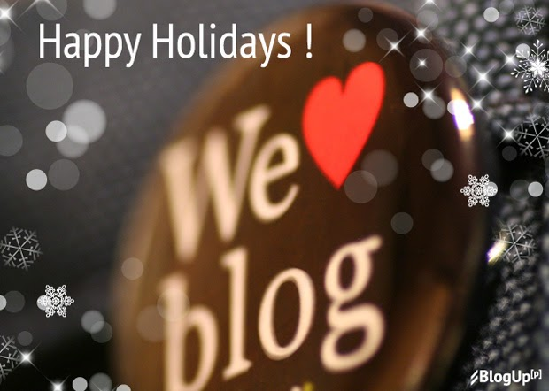 Happy Holidays and Blog Love