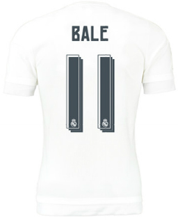 camiseta Bale Real Madrid 2016