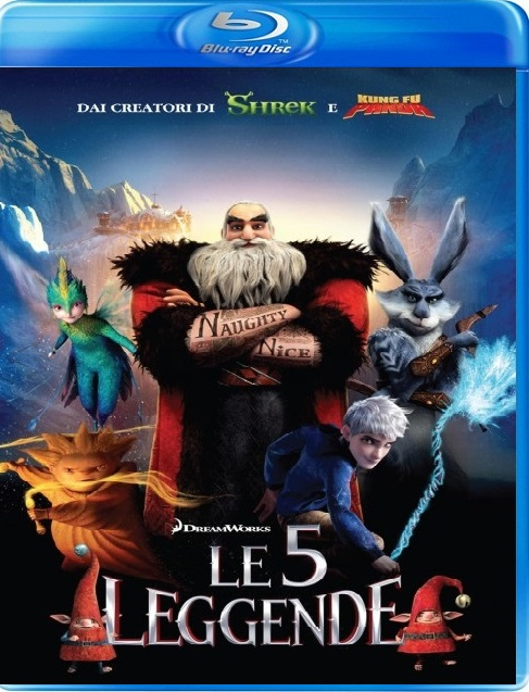 Le 5 Leggende (2012) Film Streaming ITA BDRip