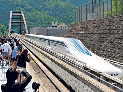 Jepun Perkenal Kereta Api Maglev 500 Kilometer Sejam