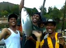 Pesta Mancing Ikan Bandeng Besar Mantap