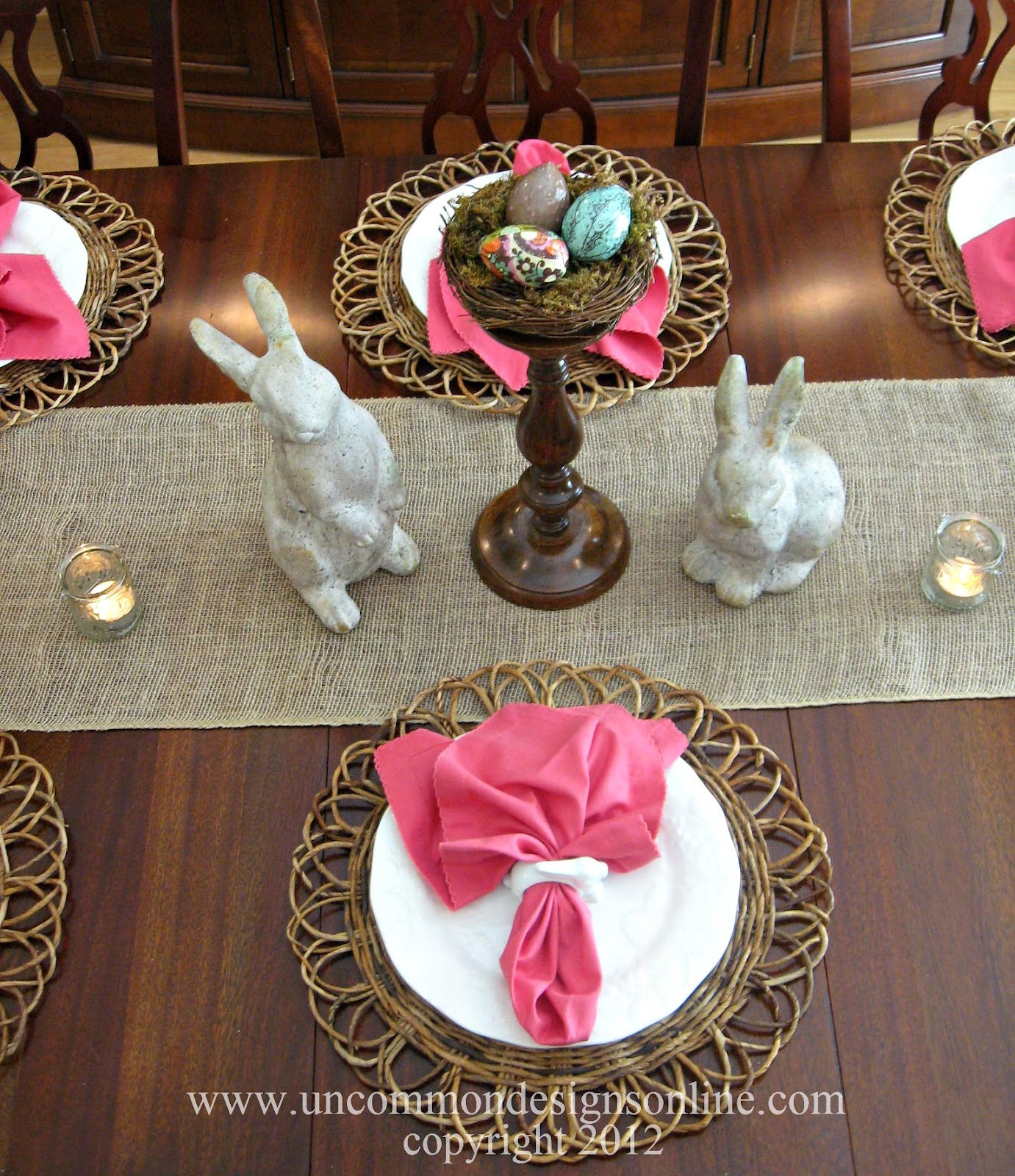 Easter Tablescapes For Everyday Living Uncommon
