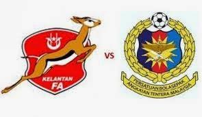 Siaran Langsung Kelantan Vs ATM Piala Malaysia 26 Ogos 2014