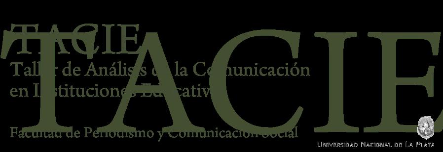 TACIE | Profesorado en Comunicación Social | FPyCS | UNLP