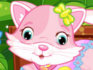 Sevimli Kedicik Giydirme Oyunu