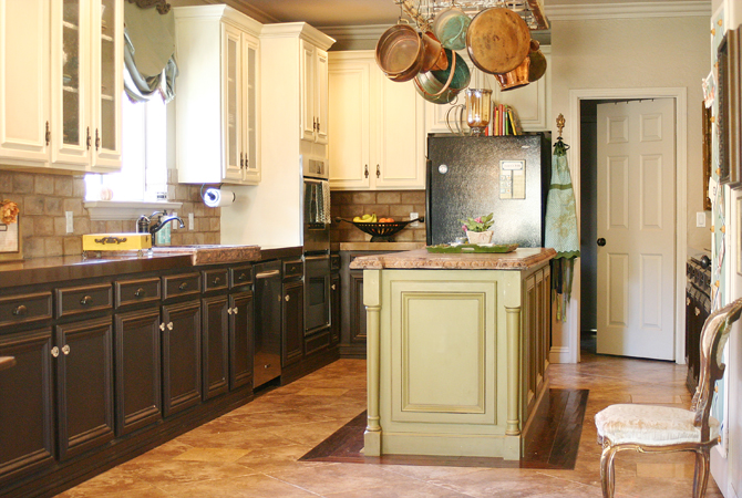 Spectacular Kitchen cabinet paint colors