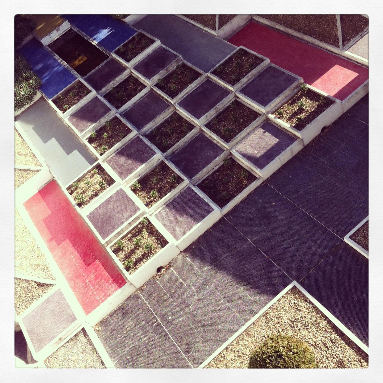 ALEXANDRA GIACOBAZZI: Le jardin cubiste de la Villa Noailles, à Hyères