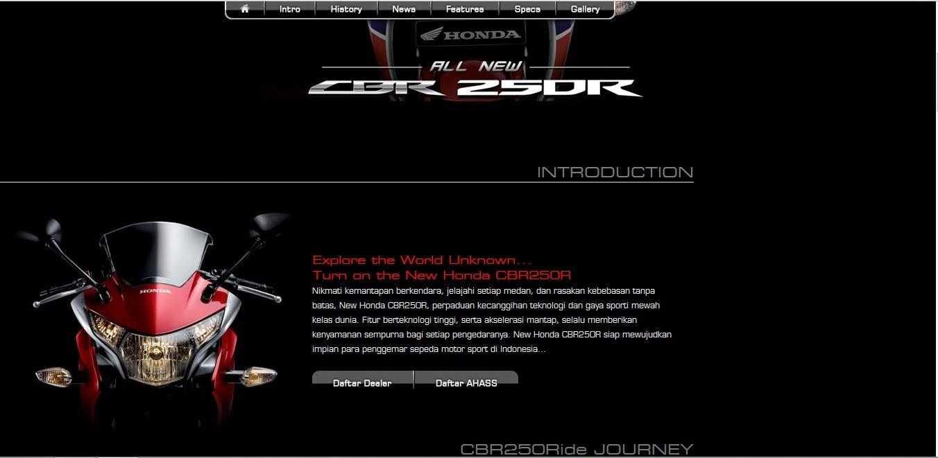 Teaser New Honda CBR 250R dual keen eyes sudah muncul di situs welovehonda.com . . .